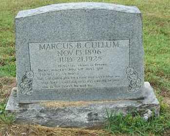 CULLUM, MARCUS - Randolph County, Arkansas | MARCUS CULLUM - Arkansas Gravestone Photos