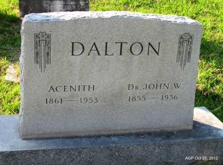 DALTON, DR JOHN W - Randolph County, Arkansas | DR JOHN W DALTON - Arkansas Gravestone Photos
