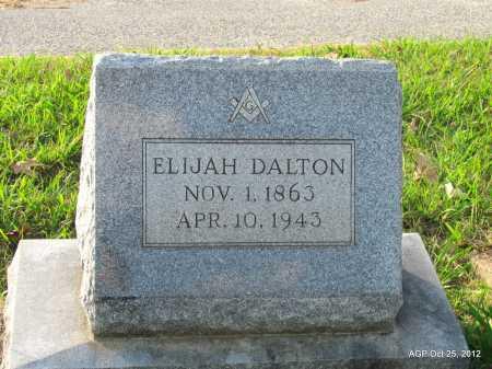 DALTON, ELIJAH - Randolph County, Arkansas | ELIJAH DALTON - Arkansas Gravestone Photos