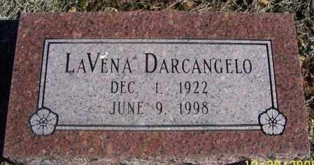 MANSKER DARCANGELO, LAVENA - Randolph County, Arkansas | LAVENA MANSKER DARCANGELO - Arkansas Gravestone Photos