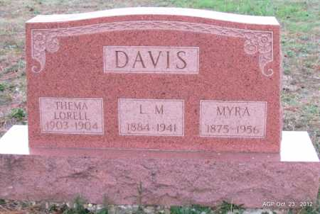 DAVIS, MYRA - Randolph County, Arkansas | MYRA DAVIS - Arkansas Gravestone Photos
