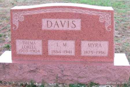 DAVIS, THELMA LORELL - Randolph County, Arkansas | THELMA LORELL DAVIS - Arkansas Gravestone Photos