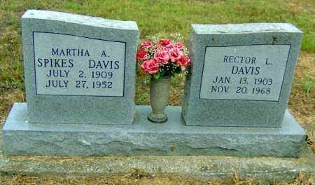 DAVIS, MARTHA ADA - Randolph County, Arkansas | MARTHA ADA DAVIS - Arkansas Gravestone Photos