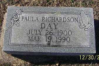 DAY, PAULA - Randolph County, Arkansas | PAULA DAY - Arkansas Gravestone Photos