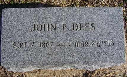 DEES, JOHN P. - Randolph County, Arkansas | JOHN P. DEES - Arkansas Gravestone Photos