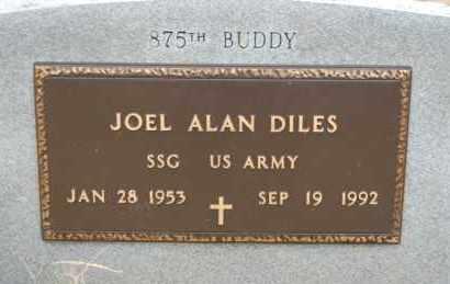 DILES (VETERAN), JOEL ALAN - Randolph County, Arkansas | JOEL ALAN DILES (VETERAN) - Arkansas Gravestone Photos