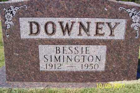 DOWNEY, BESSIE - Randolph County, Arkansas | BESSIE DOWNEY - Arkansas Gravestone Photos