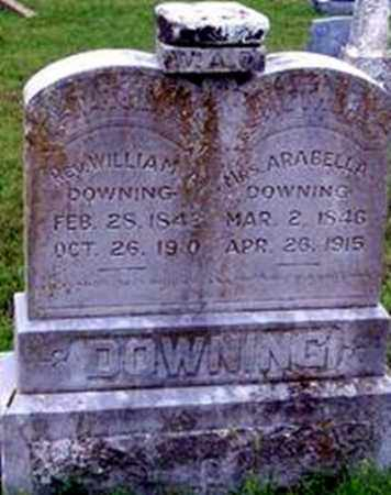 DOWNING, REV. WILLIAM A - Randolph County, Arkansas | REV. WILLIAM A DOWNING - Arkansas Gravestone Photos