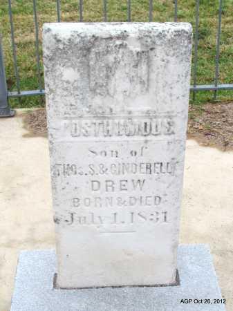 DREW, POSTHUMOUS - Randolph County, Arkansas | POSTHUMOUS DREW - Arkansas Gravestone Photos
