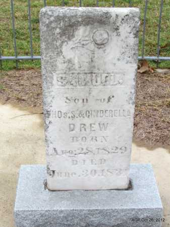 DREW, SAMUEL - Randolph County, Arkansas | SAMUEL DREW - Arkansas Gravestone Photos