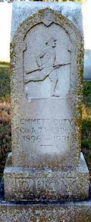 DUTY (VETERAN), EMMETT - Randolph County, Arkansas | EMMETT DUTY (VETERAN) - Arkansas Gravestone Photos
