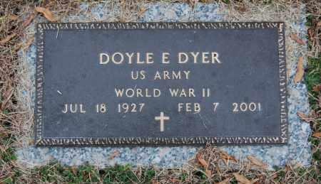 DYER (VETERAN  WWII), DOYLE E. - Randolph County, Arkansas | DOYLE E. DYER (VETERAN  WWII) - Arkansas Gravestone Photos