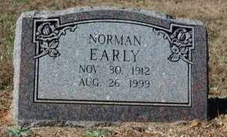 EARLY, NORMAN - Randolph County, Arkansas | NORMAN EARLY - Arkansas Gravestone Photos
