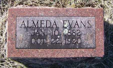 EVANS, ALMEDA - Randolph County, Arkansas | ALMEDA EVANS - Arkansas Gravestone Photos