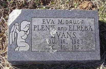 EVANS, EVA M. - Randolph County, Arkansas | EVA M. EVANS - Arkansas Gravestone Photos