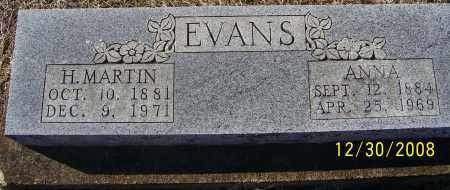 KERLEY EVANS, ANNA - Randolph County, Arkansas | ANNA KERLEY EVANS - Arkansas Gravestone Photos