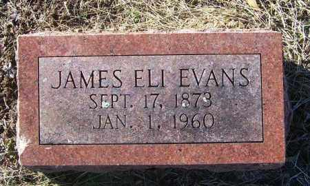 EVANS, JAMES ELI - Randolph County, Arkansas | JAMES ELI EVANS - Arkansas Gravestone Photos