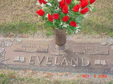 EVELAND, DELMER L - Randolph County, Arkansas | DELMER L EVELAND - Arkansas Gravestone Photos