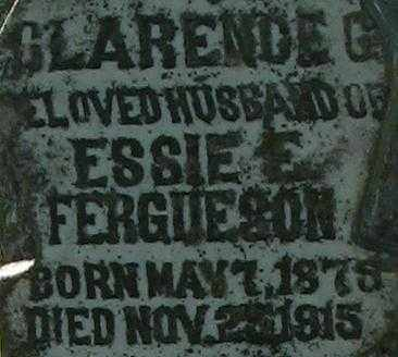FERGUESON, CLARENCE G. - Randolph County, Arkansas | CLARENCE G. FERGUESON - Arkansas Gravestone Photos