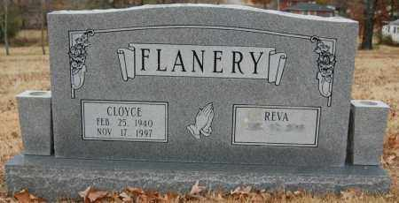 FLANERY, CLOYCE - Randolph County, Arkansas | CLOYCE FLANERY - Arkansas Gravestone Photos