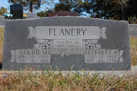 FLANERY, EVERETT A. - Randolph County, Arkansas | EVERETT A. FLANERY - Arkansas Gravestone Photos