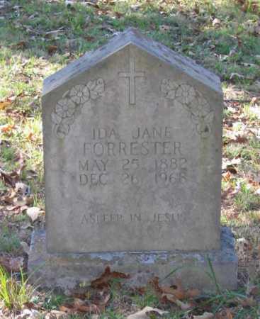 FORRESTER, IDA JANE - Randolph County, Arkansas | IDA JANE FORRESTER - Arkansas Gravestone Photos