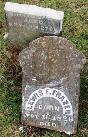 FRAZER, LEWIS F - Randolph County, Arkansas | LEWIS F FRAZER - Arkansas Gravestone Photos