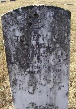 GAMEL (VETERAN), JOSEPH OSCAR - Randolph County, Arkansas | JOSEPH OSCAR GAMEL (VETERAN) - Arkansas Gravestone Photos