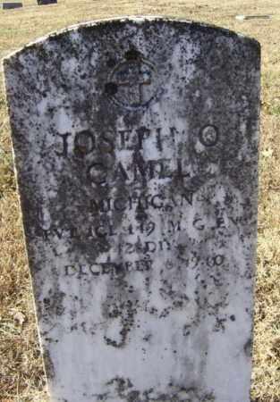 GAMEL (VETERAN), JOSEPH OSCAR - Randolph County, Arkansas | JOSEPH OSCAR GAMEL (VETERAN) - Arkansas Gravestone Photos