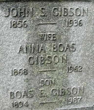GIBSON, JOHN FAMILY COSE UP - Randolph County, Arkansas | JOHN FAMILY COSE UP GIBSON - Arkansas Gravestone Photos