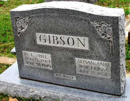 "GIBSON, WILLIAM JACKSON ""BILL"" - Randolph County, Arkansas 