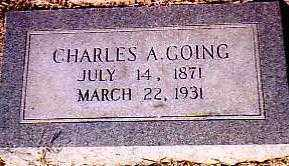 GOING, CHARLES ASROE - Randolph County, Arkansas | CHARLES ASROE GOING - Arkansas Gravestone Photos