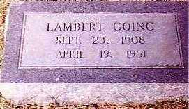 GOING, LAMBERT - Randolph County, Arkansas | LAMBERT GOING - Arkansas Gravestone Photos