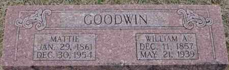 GOODWIN, MATTIE - Randolph County, Arkansas | MATTIE GOODWIN - Arkansas Gravestone Photos