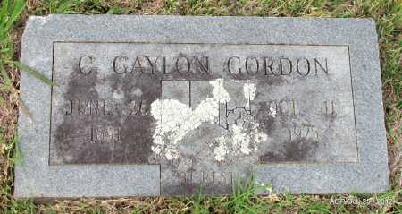 GORDON, C GAYLON - Randolph County, Arkansas | C GAYLON GORDON - Arkansas Gravestone Photos