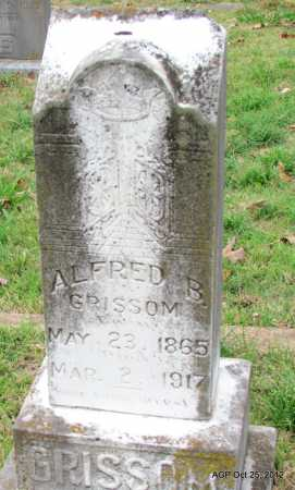 GRISSOM, ALFRED BURTON - Randolph County, Arkansas | ALFRED BURTON GRISSOM - Arkansas Gravestone Photos