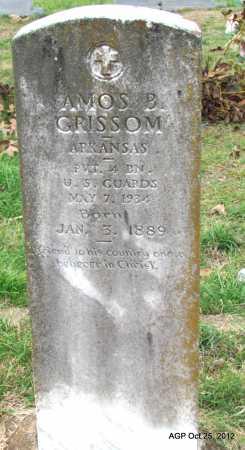 GRISSOM, AMOS B - Randolph County, Arkansas | AMOS B GRISSOM - Arkansas Gravestone Photos