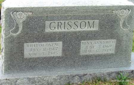 GRISSOM, WILLIAM O'NEAL - Randolph County, Arkansas | WILLIAM O'NEAL GRISSOM - Arkansas Gravestone Photos