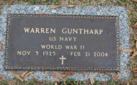 GUNTHARP (VETERAN WWII), WARREN - Randolph County, Arkansas | WARREN GUNTHARP (VETERAN WWII) - Arkansas Gravestone Photos