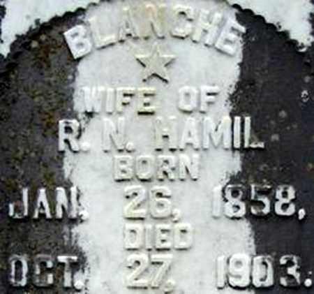 KIBLER HAMIL, BLANCHE - Randolph County, Arkansas | BLANCHE KIBLER HAMIL - Arkansas Gravestone Photos