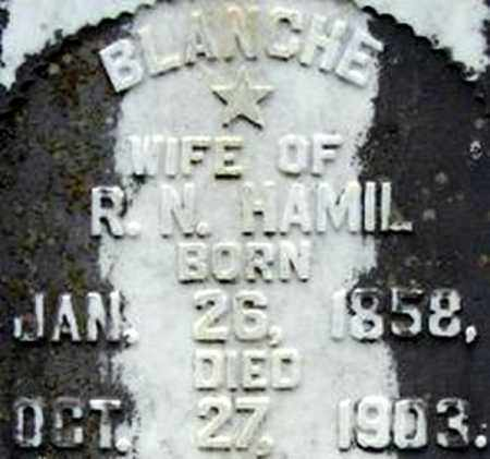 HAMIL, BLANCHE - Randolph County, Arkansas | BLANCHE HAMIL - Arkansas Gravestone Photos