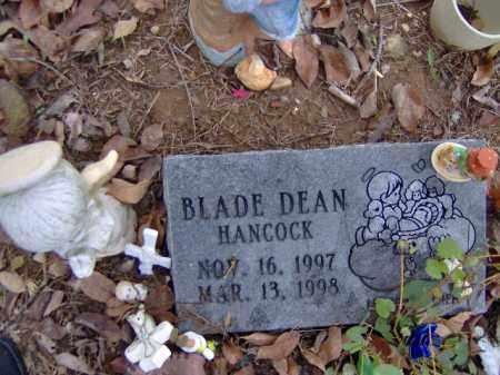 HANCOCK, BLADE DEAN - Randolph County, Arkansas | BLADE DEAN HANCOCK - Arkansas Gravestone Photos