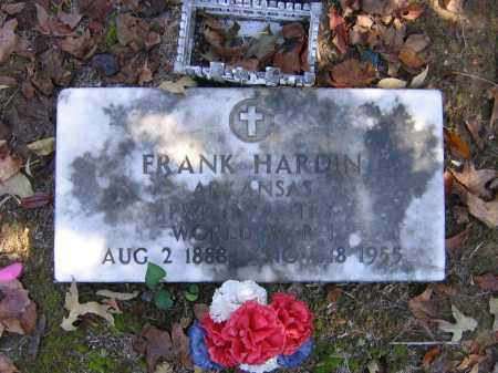 HARDIN (VETERAN WWI), FRANK - Randolph County, Arkansas | FRANK HARDIN (VETERAN WWI) - Arkansas Gravestone Photos