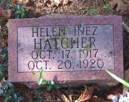 HATCHER, HELEN INEZ - Randolph County, Arkansas | HELEN INEZ HATCHER - Arkansas Gravestone Photos