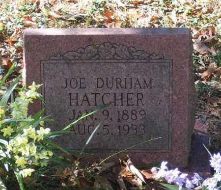 "HATCHER, JOSEPH DURHAM ""JOE"" - Randolph County, Arkansas | JOSEPH DURHAM ""JOE"" HATCHER - Arkansas Gravestone Photos"