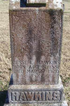 HAWKINS, JESSE L. - Randolph County, Arkansas | JESSE L. HAWKINS - Arkansas Gravestone Photos