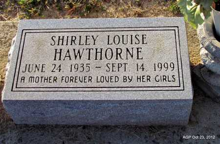 HAWTHORNE, SHIRLEY LOUISE - Randolph County, Arkansas | SHIRLEY LOUISE HAWTHORNE - Arkansas Gravestone Photos