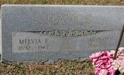 HAYES, MELVIA E. - Randolph County, Arkansas | MELVIA E. HAYES - Arkansas Gravestone Photos