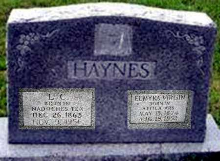 HAYNES, ELMYRA VIRGINIA - Randolph County, Arkansas | ELMYRA VIRGINIA HAYNES - Arkansas Gravestone Photos