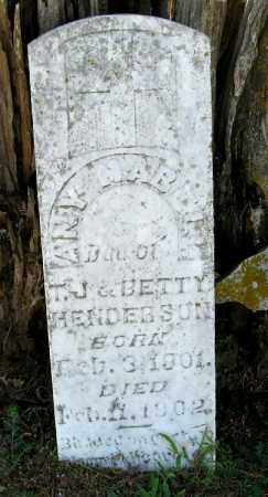 HENDERSON, ANY MABELL - Randolph County, Arkansas | ANY MABELL HENDERSON - Arkansas Gravestone Photos